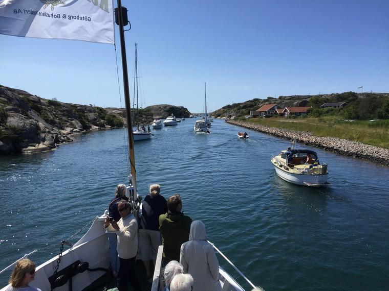 """Three day boat Cruise with """"Svenska Västkustlinjen"""""""