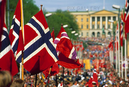 Norway's National Day is celebrated on May 17