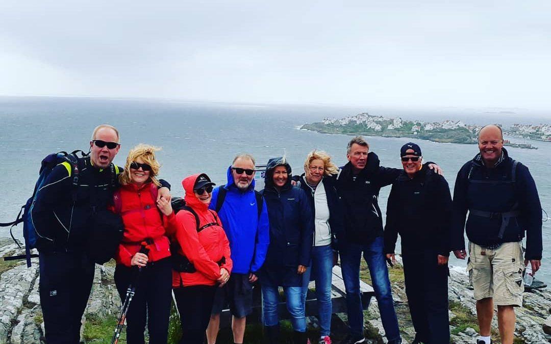 Hiking on Dyrön and accommodation on Salt & Sill